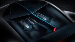 Bugatti Divo 2018 moteur W16