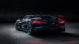 Bugatti Divo 2018 arrière feux aileron