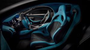 Bugatti Divo 2018 intérieur sièges