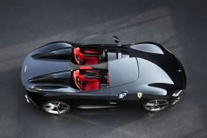 Ferrari Monza SP2 2018 sièges intérieur