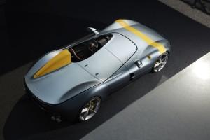 Ferrari Monza SP1 monoplace arrière