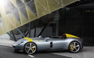 Ferrari Monza SP1 2018 profil jantes
