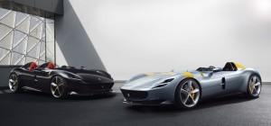 Ferrari Monza SP1 SP2 profil jantes V12