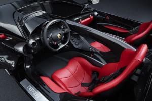 Ferrari Monza SP2 intérieur volant siège