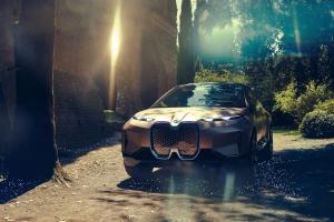 BMW Vision iNEXT Concept avant statique
