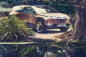 BMW Vision iNEXT Concept 2018 profil statique jantes
