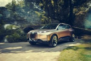 BMW Vision iNEXT Concept 2018 électrique dynamique profil
