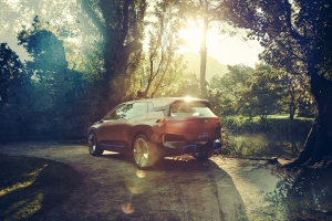 BMW Vision iNEXT Concept arrière statique jantes