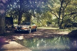 BMW Vision iNEXT Concept 2018 profil jantes statique avant