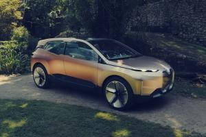 BMW Vision iNEXT Concept statique jantes couleur