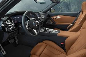 BMW Z4 intérieur sièges écran volant combiné