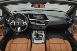 BMW Z4 intérieur sièges écran