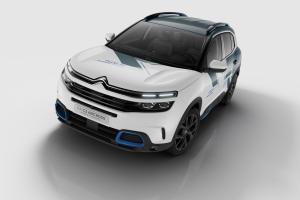 Citroën C5 Aircross Hybrid Concept avant statique