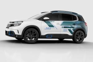 Citroën C5 Aircross Hybrid Concept profil statique airbump jantes