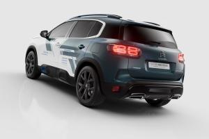 Citroën C5 Aircross Hybrid Concept arrière feux jantes