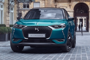 DS 3 Crossback face avant bleu