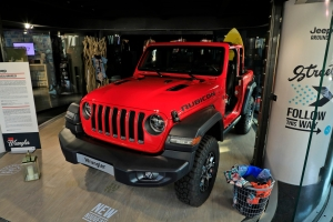 Exposition Jeep Around MotorVillage Wrangler Rubicon