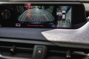 Essai Lexus UX écran caméra recul