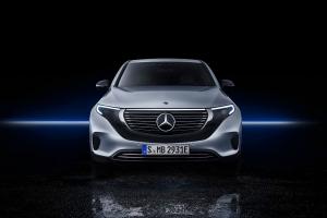 Mercedes EQC 2018 face avant