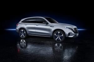 Mercedes EQC 2018 profil