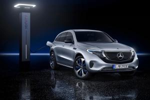 Mercedes EQC 2018 avant recharge électrique