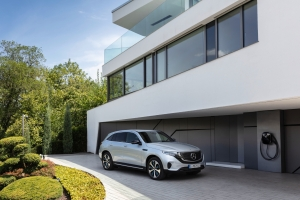 Mercedes EQC 2018 profil avant