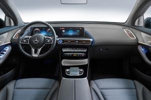 Mercedes EQC 2018 intérieur