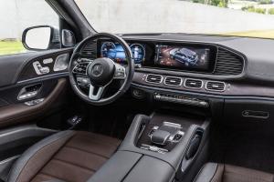 Mercedes GLE 2018 intérieur écran tactile