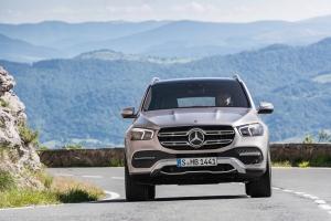 Mercedes GLE 2018 face avant dynamique