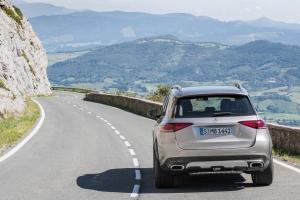 Mercedes GLE 2018 arrière dynamique 450 4Matic