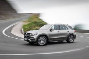 Mercedes GLE 2018 profil dynamique jantes