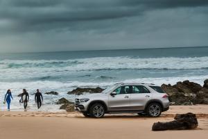 Mercedes GLE 2018 profil statique