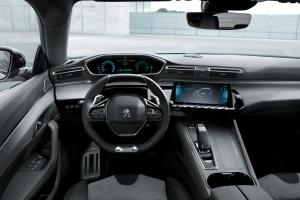 Peugeot 508 hybride intérieur i-cockpit