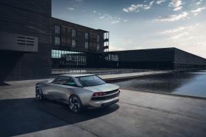 Peugeot e-Legend Concept arrière statique feux jantes