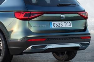 Seat Tarraco coffre feux logo roues