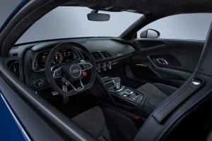 Audi R8 2018 intérieur volant sièges
