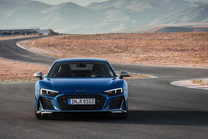 Audi R8 2018 capot phares avant