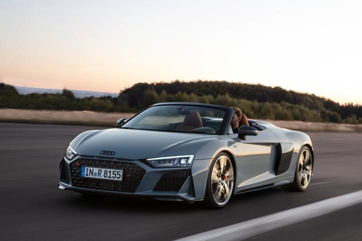 Audi R8 Spyder roues jantes calandre