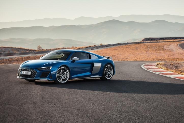 Audi R8 2018 profil jantes roues feux
