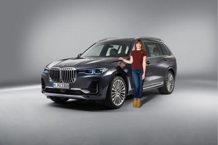 BMW X7 2018 Marie Lizak avant calandre statique