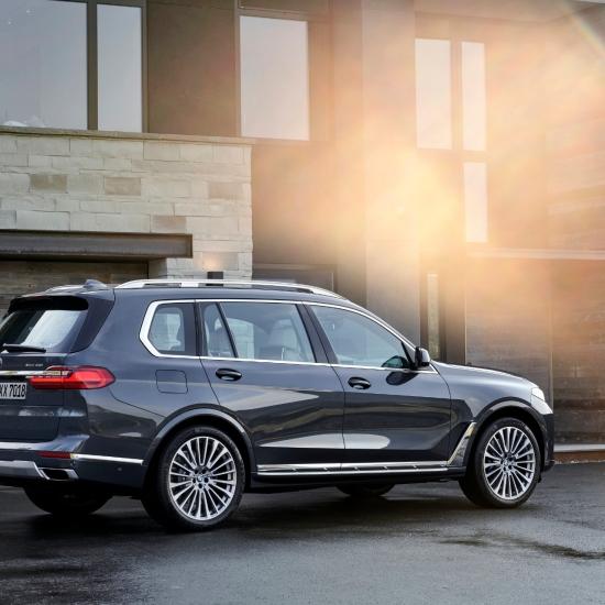 BMW X7 2018 arrière feux jantes