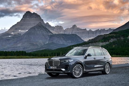 BMW X7 2018 profil jantes roues essence diesel