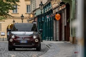 Fiat 500 Collezione automne avant dynamique feux