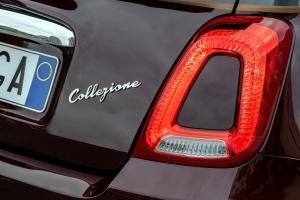 Fiat 500 Collezione automne détail feux arrière