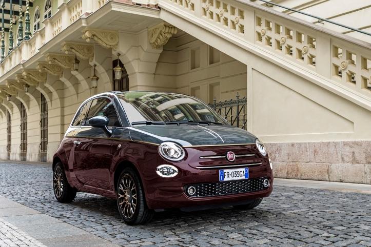 Fiat 500 Collezione automne 2018 profil statique jantes roues
