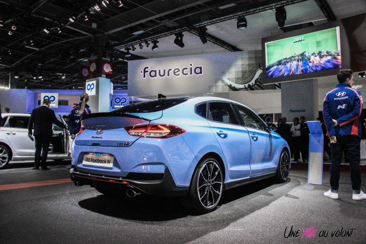 Hyundai i30 N Fastback Mondial auto Paris 2018 arrière