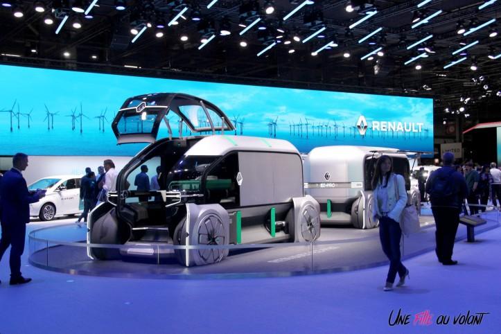 Renault EZ-PRO Mondial auto Paris 2018