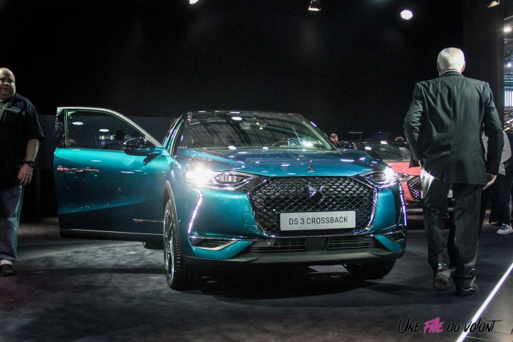 DS 3 Crossback Mondial auto Paris 2018 avant feux