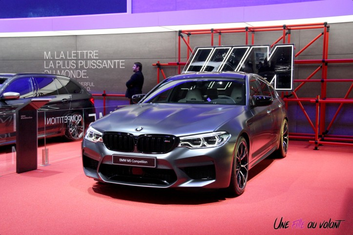 BMW M5 Competition Mondial auto Paris 2018