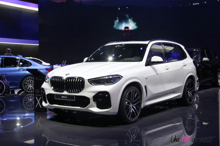 BMW X5 Mondial auto Paris 2018